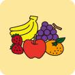 果物を食べる機会が少ない方