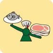 肉や魚をバランスよく取れていない方